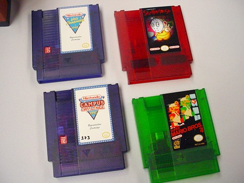These are reproduction NES carts created