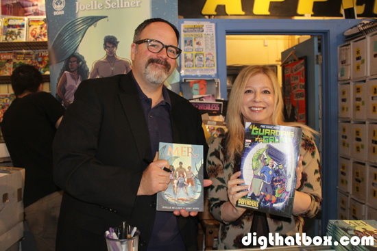 Comic-Con/Gerry-Duggan-Joelle-Sellner.JPG